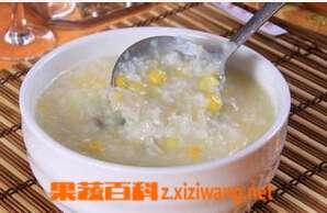 山药玉米粥的材料和做法步骤